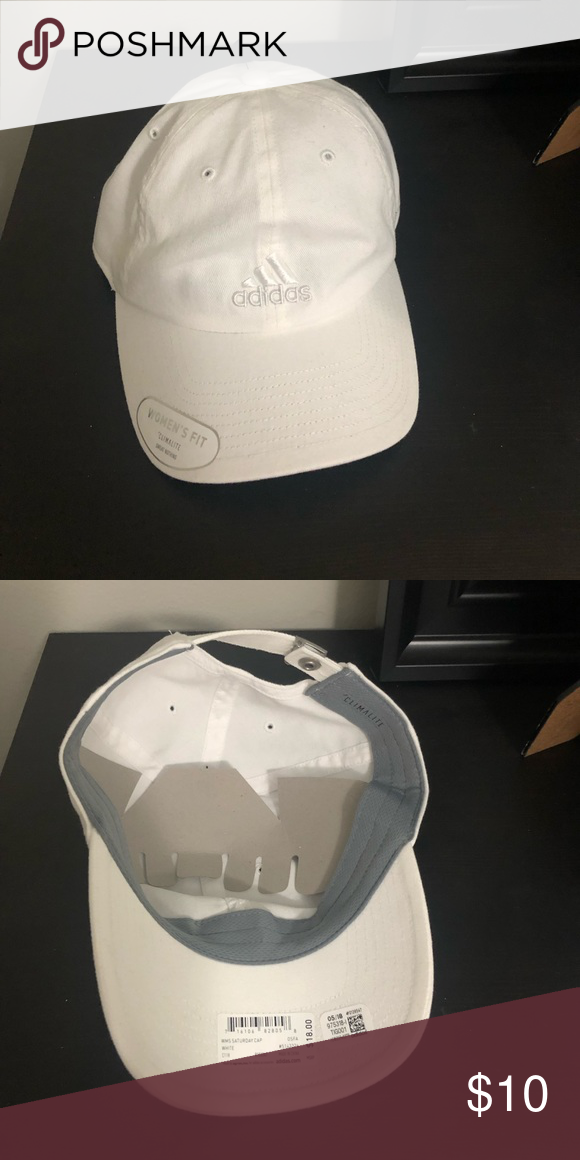 0e569c2e1d11e White on white Adidas hat Brand new Adidas Climate Control hat adidas  Accessories Hats
