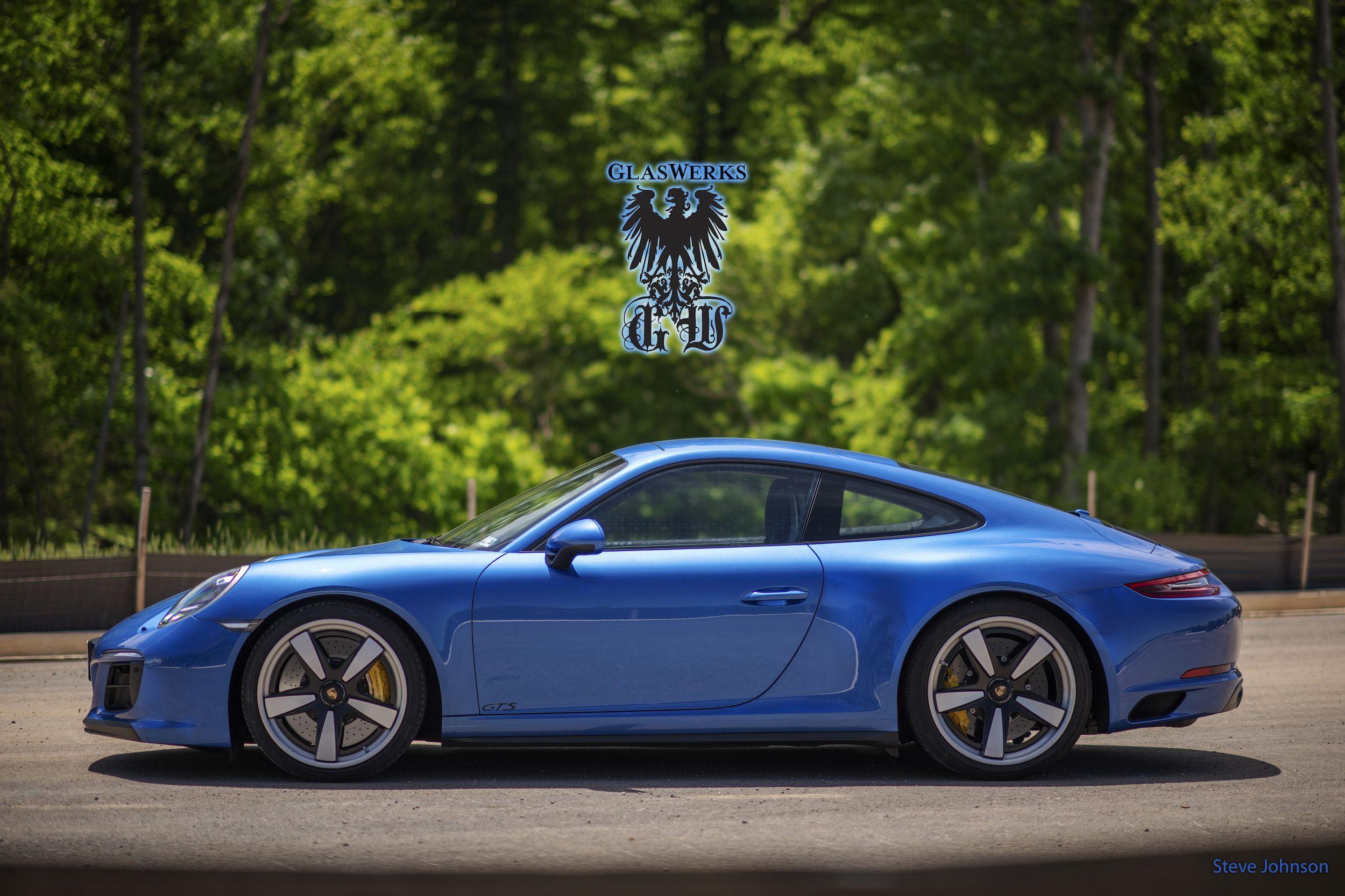 Glaswerks DMV Customer Performance wheels, Porsche 911