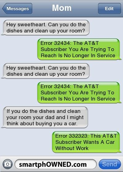 Funny texts pranks, Funny texts, Message mom