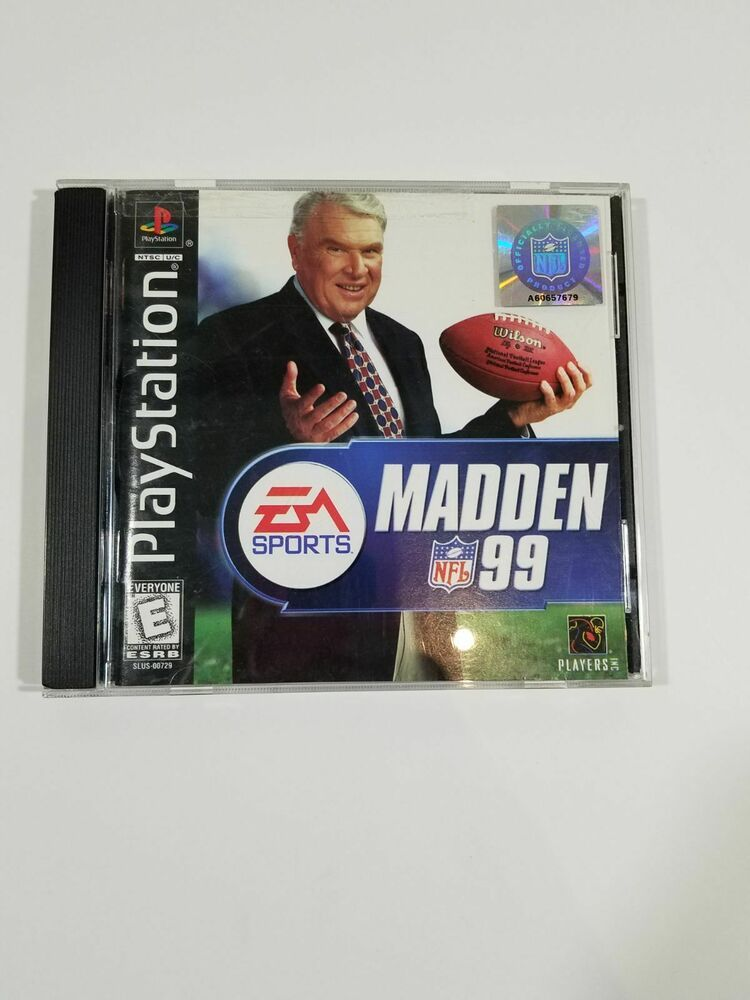 Madden NFL 99 (Sony PlayStation 1, 1998) ps4 gaming
