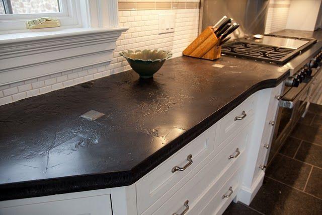 Concrete counter tops, now that's pretty!