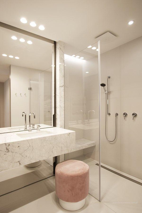 Marmur W Nowoczesnej łazience Architektura Wnętrza