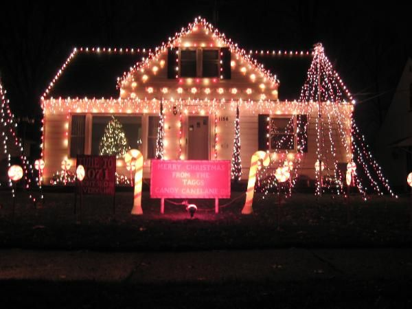 Tagg S Candy Cane Lane Mayfield Heights