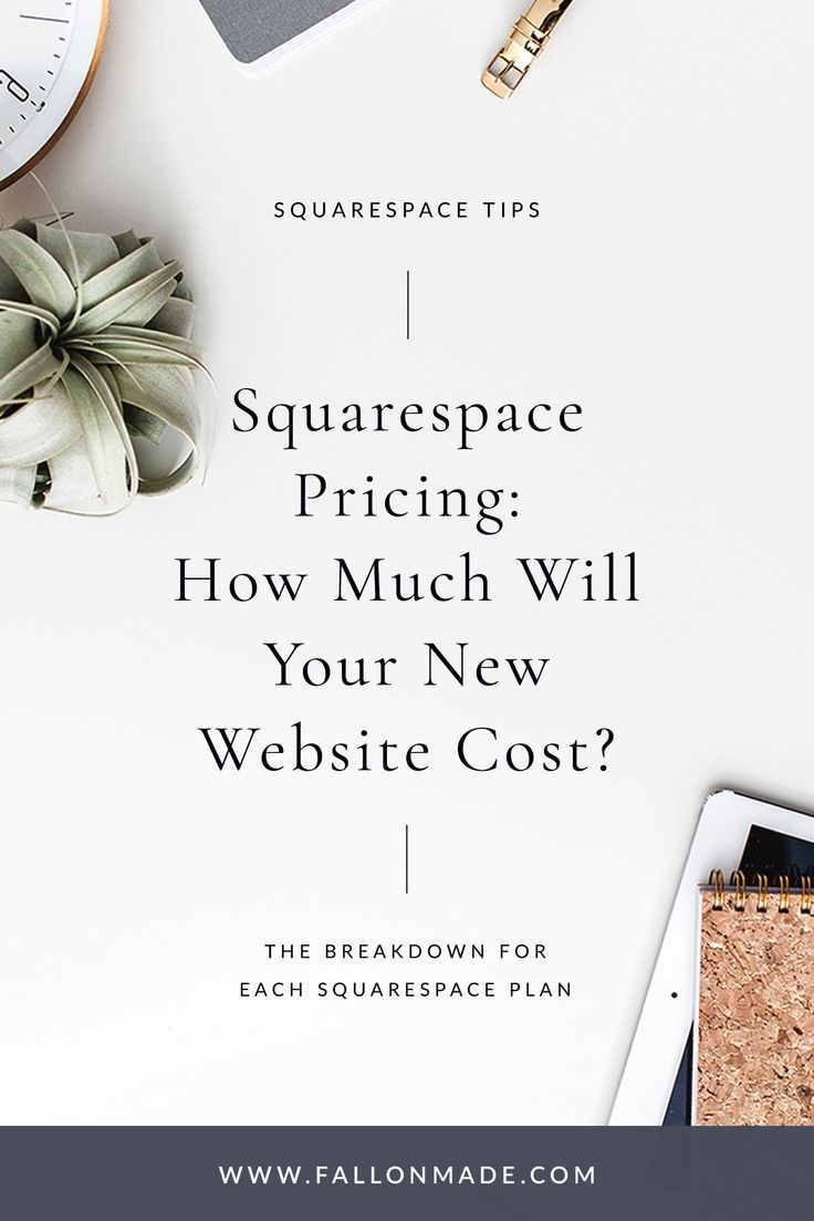 Squarespace Pricing What You Should Know Squarespace