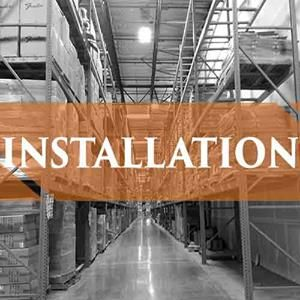 Delivery and Installation on all pallet racks.. Give us a call today for a free quote. 909-793-5914