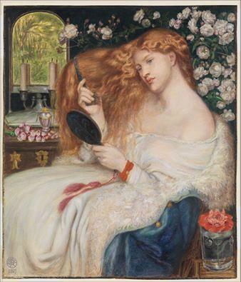 Lady Lilith (Dante Gabriel Rossetti).