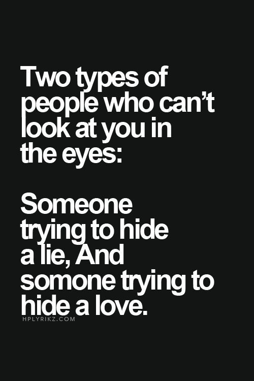 what do eyes do when you lie