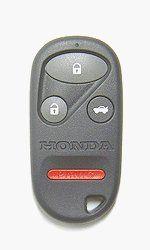 New Keyless Entry Remote Car Key Fob for 2000-2002 Honda Accord KOBUTAH2T