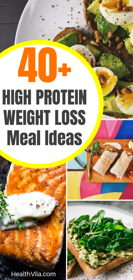 40+ High Protein Diet for Weight Loss Meal ideas for men and women: Check out this epic guide and Vi...