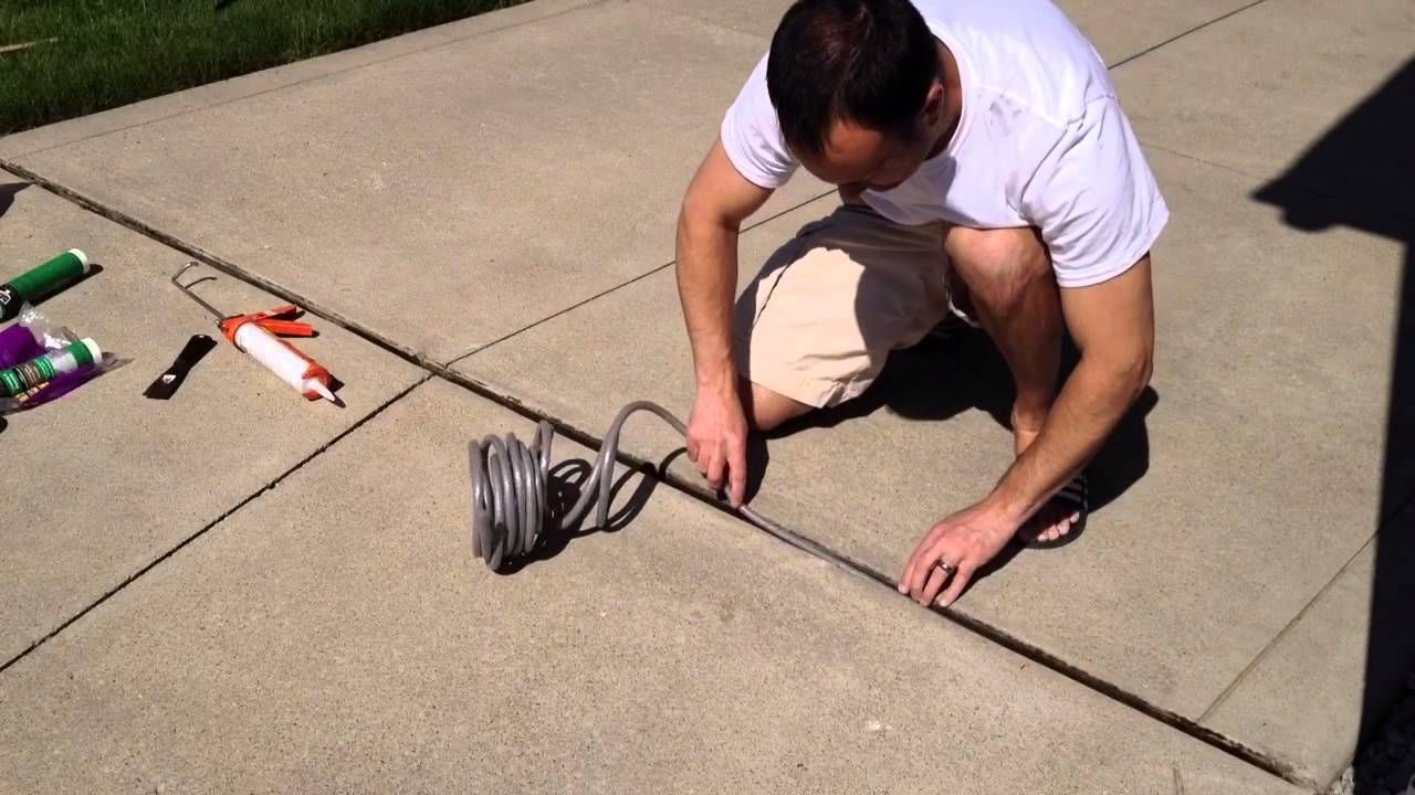Diy Repair Driveway Expansion Joints Expansion Joint