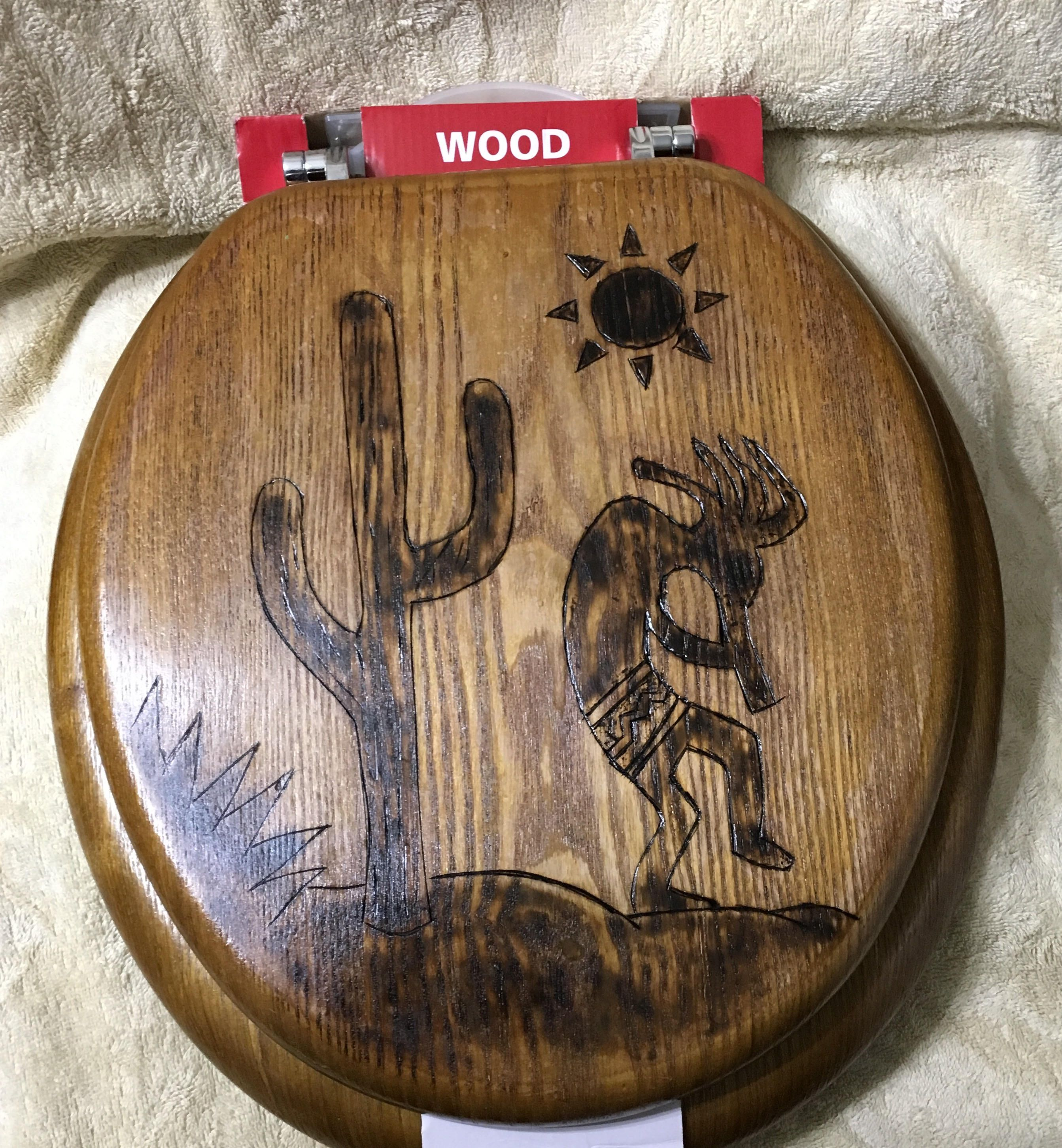 Hand carved wood toilet seat 14 x 15 inch fits standard size toilets Comes  with all15 Inch Toilet Seat  Toilet SeatToilet Buying Guide  Round toilet  . Toilet Seat 17 X 14. Home Design Ideas