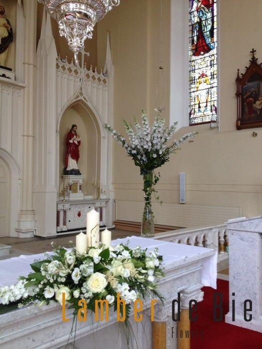 Church altar for wedding