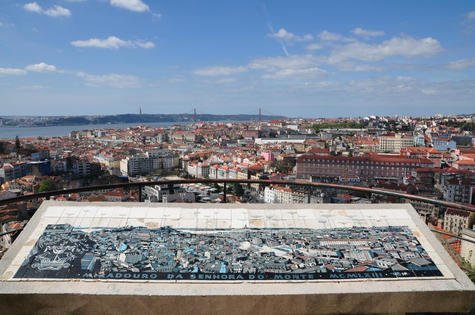 Miradouro Da Senhora Do Monte Lisboa Lisboa Portugal Montinho