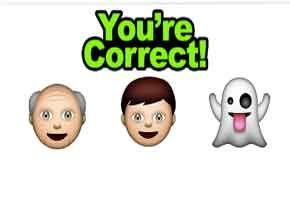 Guess Emoji Movie Http Allemojianswers Com Guess The Emoji Guess The Emoji Level 36 Old Man Young Man And Ghost Guess The Emoji Old Man Young Emoji Movie