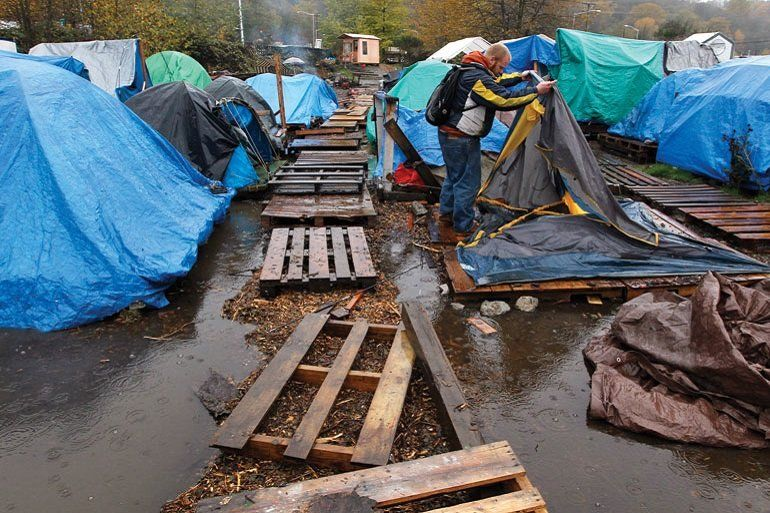 Ignored Or Destroyed By Most Tent Cities Get More Permanent Homeless City Tent