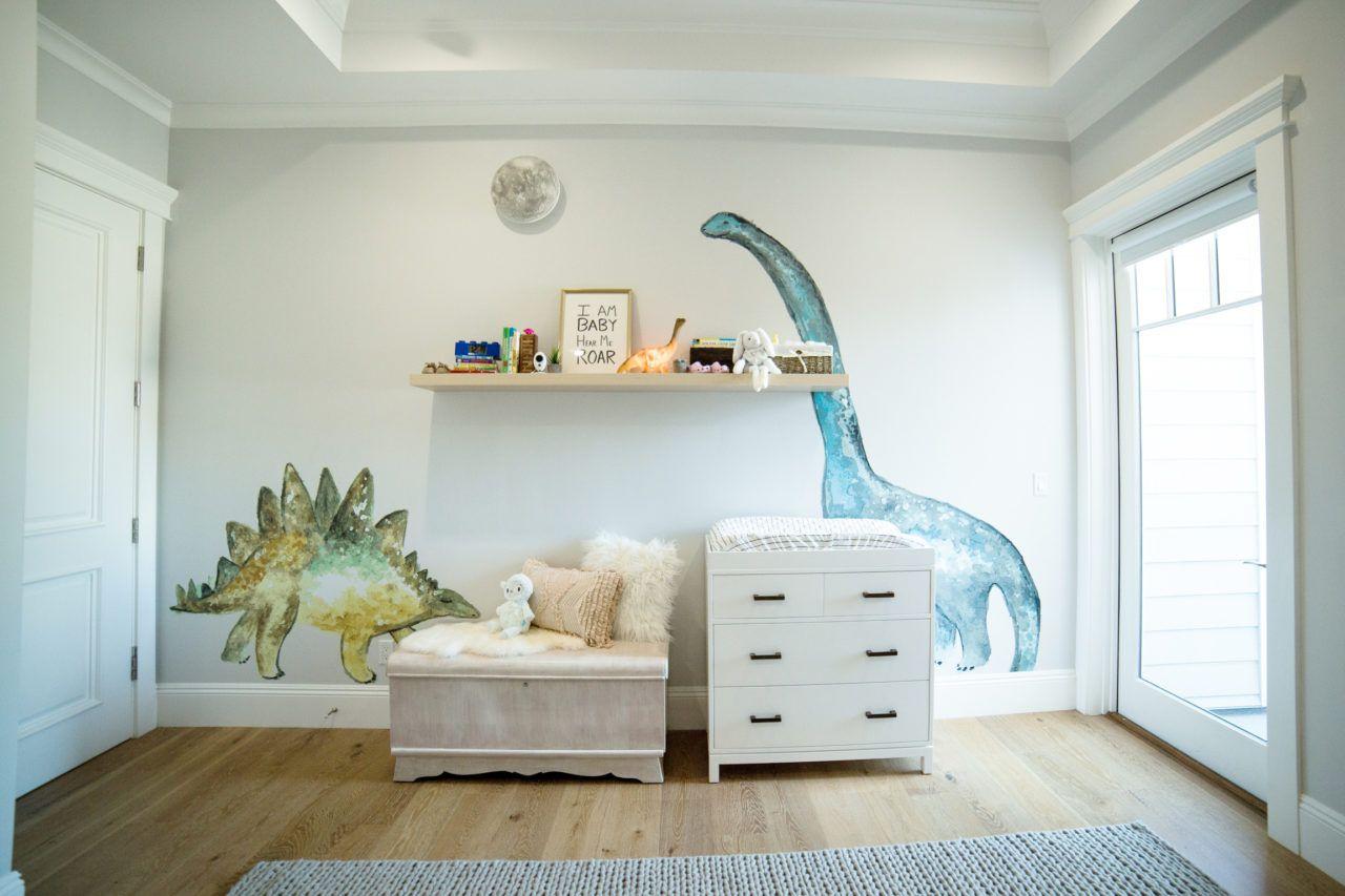 Colleen Ballinger's Nursery Makeover #dinosaurnursery