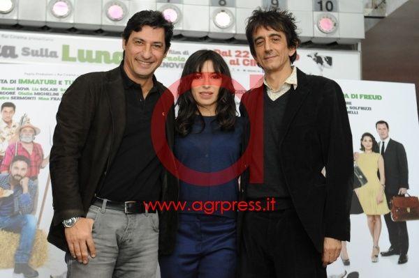 Emilio Solfrizzi, Sabrina Impacciatore, Sergio Rubini