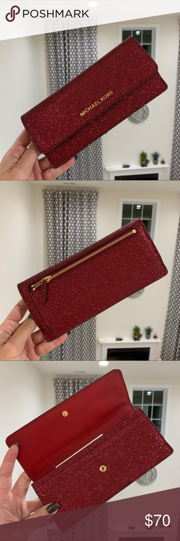 40e9ccb1f16ff1 Michael Kors Giftable Flat Wallet Price is my Firm 100% Authentic MK Michael  Kors Giftable