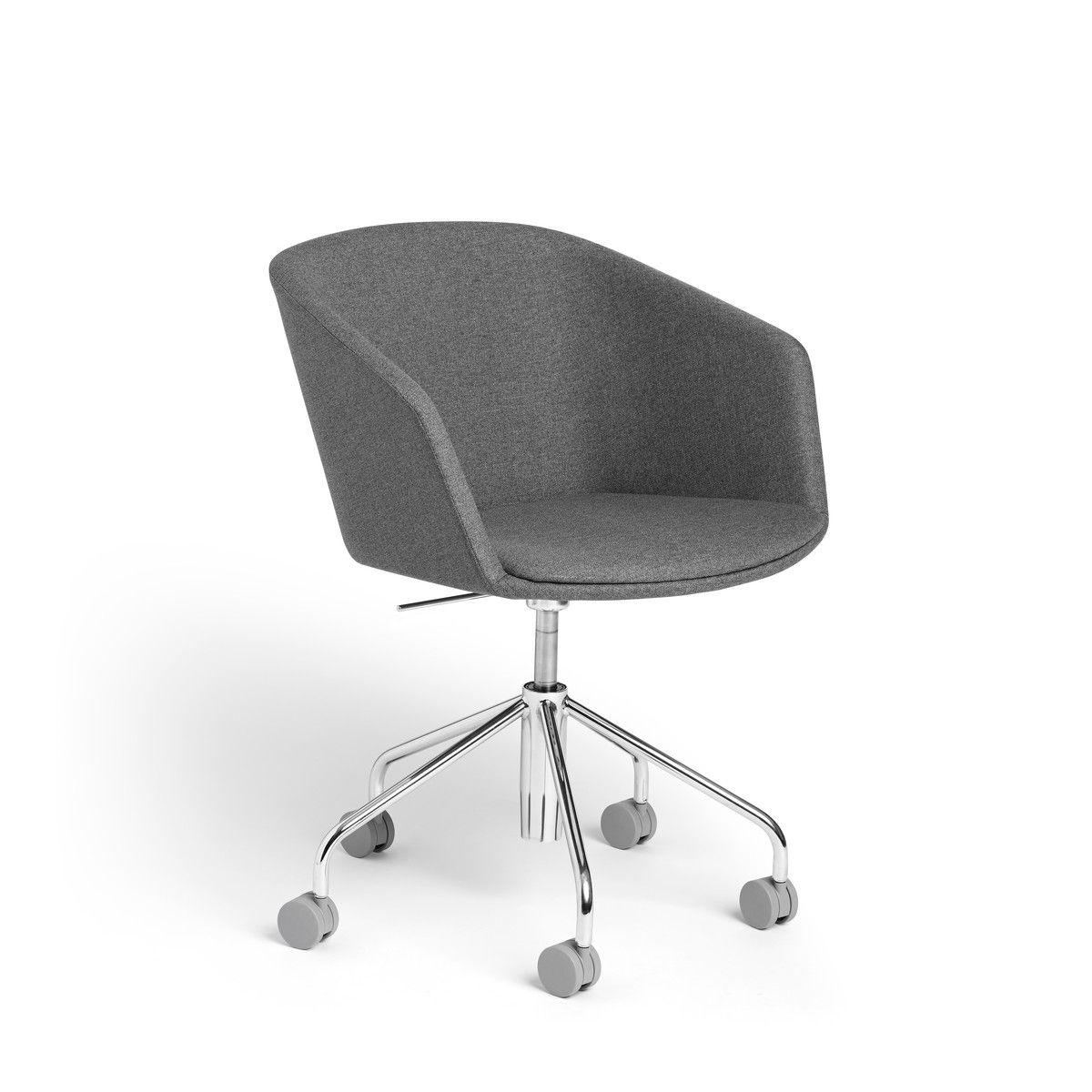 Dark Gray Pitch Meeting Chair Modern Office Furniture Office