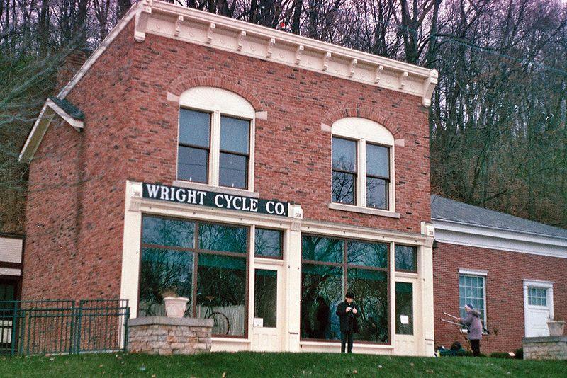 Wright Brothers Cycle Shop Carillon Historical Park Dayton Ohio Usa Building Layout Dayton Ohio