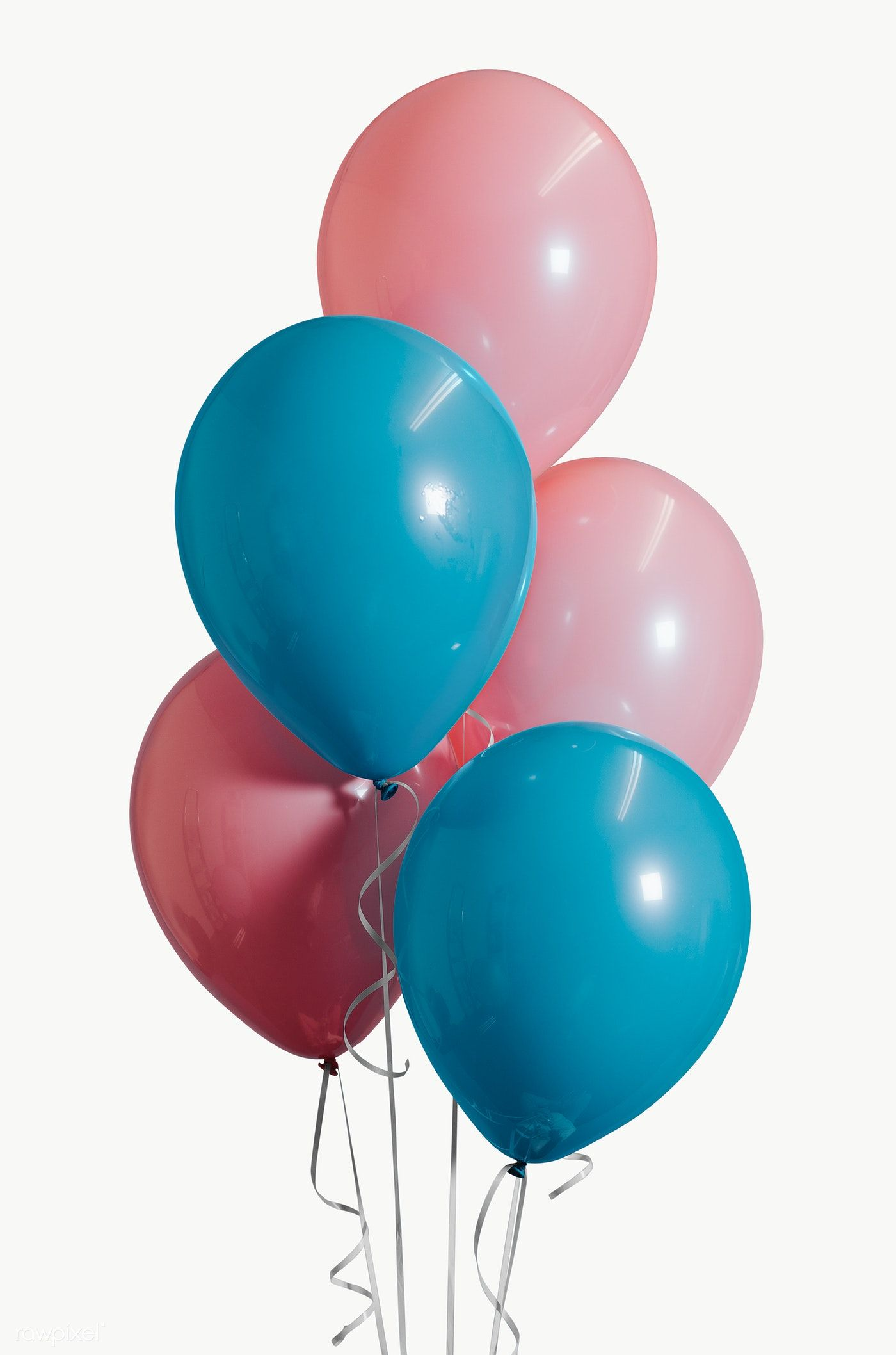 Download Premium Png Of Pastel Pink And Blue Balloons Png Transparent Blue Balloons Balloons Photography Balloons