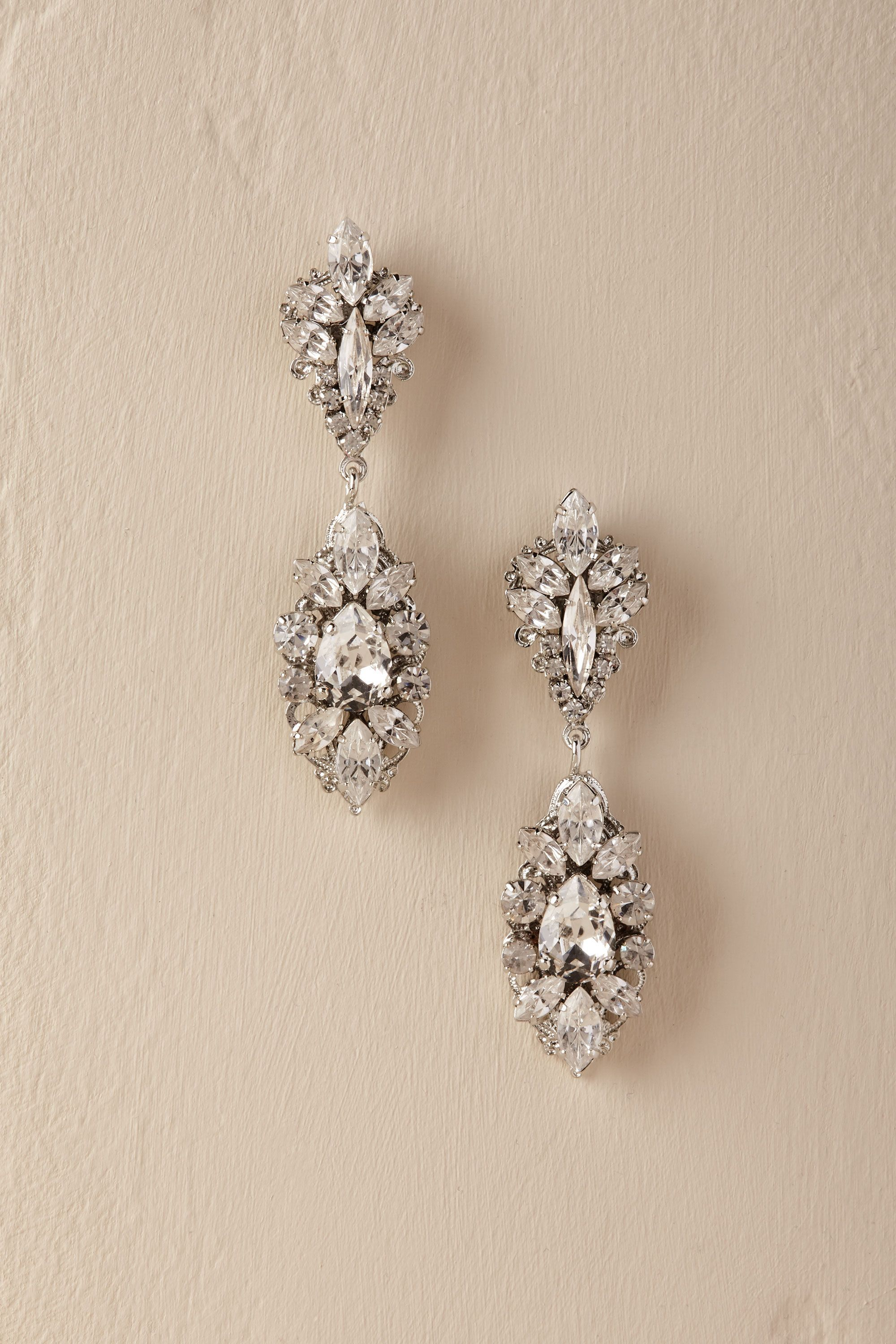 Statement Earrings For Your Wedding Day Bridal Statement Earrings Statement Earrings Wedding Swarovski Earrings Wedding