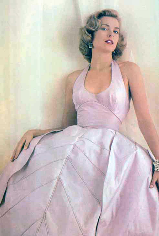 Seen Wearing Oleg Cassini . . .Grace Kelly