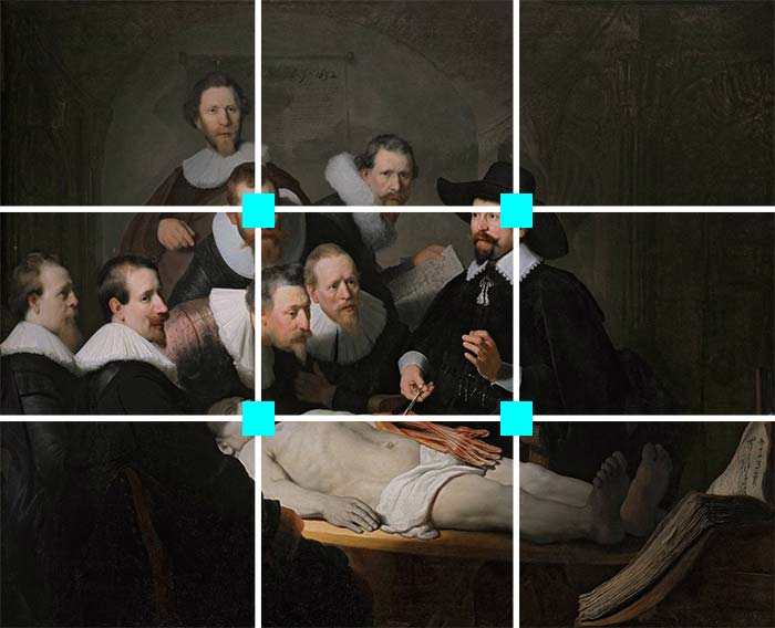 How To Use The Rule Of Thirds To Improve Your Art Rule Of Thirds Composition Techniques Art