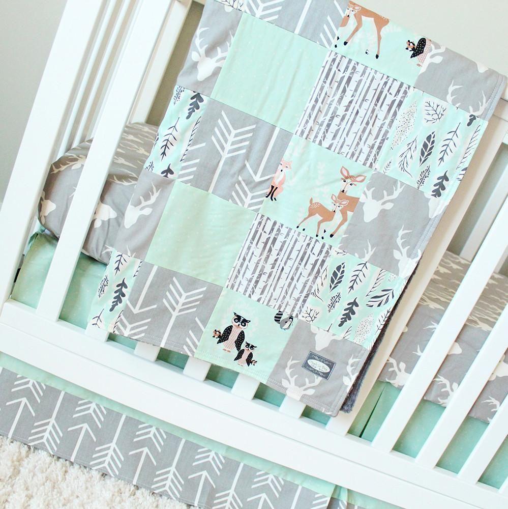 Deer Baby Bettwäsche Set Mint Bett Bett In 2019