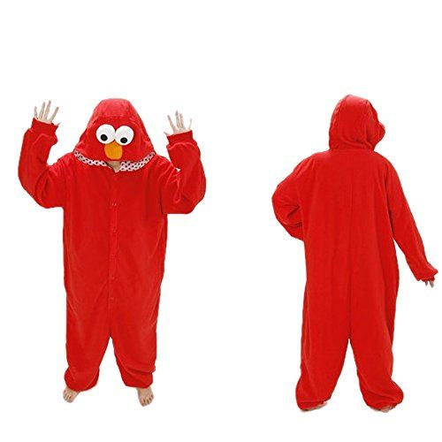 Cozyin Kigurumi Pajamas Adult Animal Sesame Street Red bird Size xl   Cozyin Kigurumi Pajamas Adult Animal Sesame Street Red bird Size xl Material: Coral fleece Package Content:1 x Pajamas The color in the image could look slightly different from the actual product. XL fit for tall from 180CM-185CM(155cm length)  http://www.beststreetstyle.com/cozyin-kigurumi-pajamas-adult-animal-sesame-street-red-bird-size-xl/