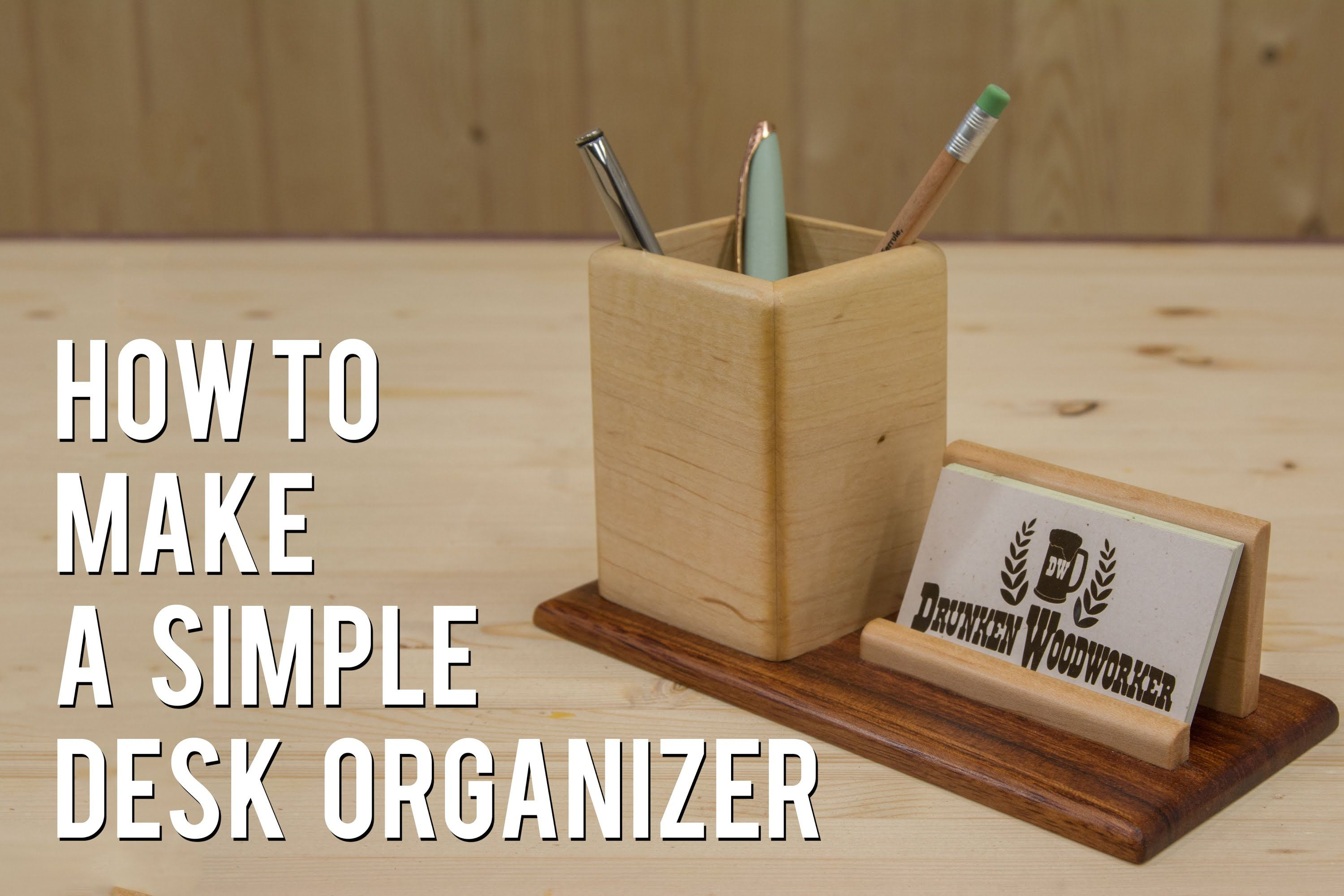 How To Make A Pencil Business Card Holder Wood Business Card Holder Wood Business Cards Business Card Holders