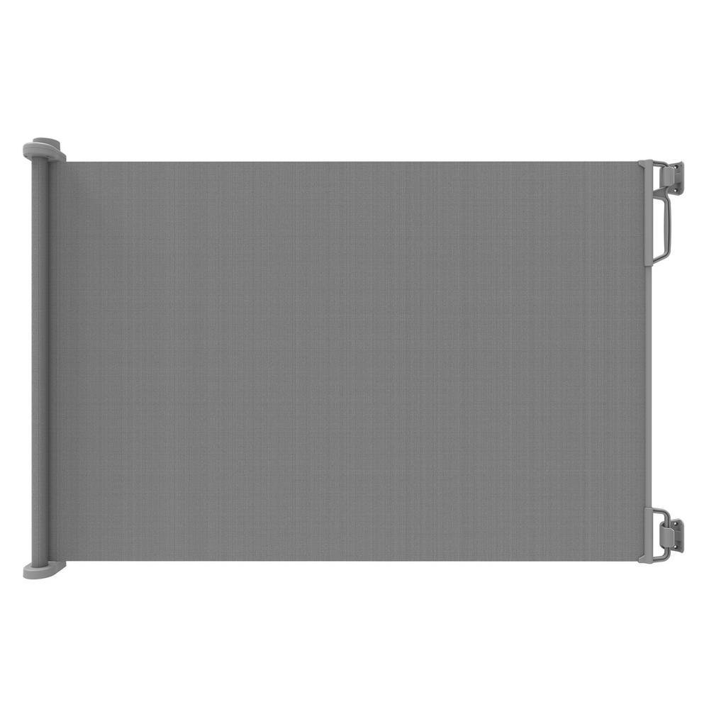 Perma Child Safety 41 In H Extra Tall And Extra Wide Outdoor Retractable Gate Gray 2756 Retractable Gate