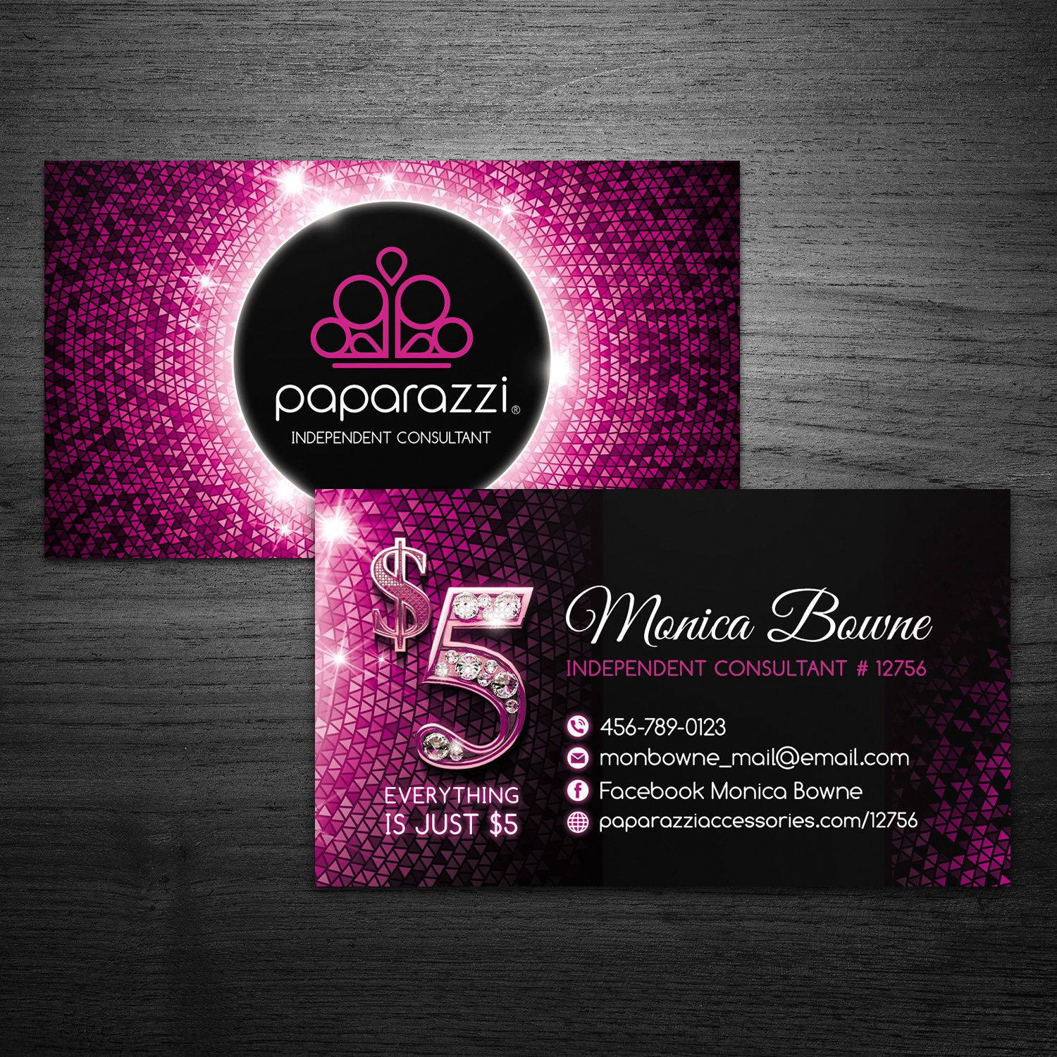 Paparazzi Business Cards Custom Business Cards Paparazzi Business Card Paparazzi Jewelry Paparazz Jewelry Business Card Custom Business Cards Paparazzi