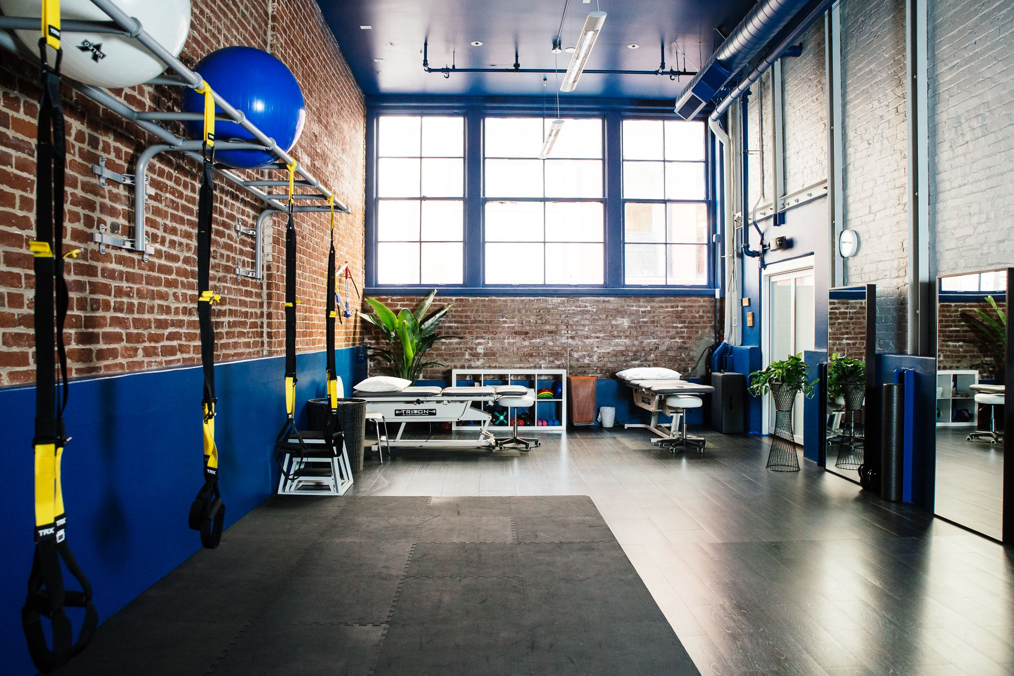 Small High Impact Decor Ideas: Physical Therapy €� Pilates €� TRX