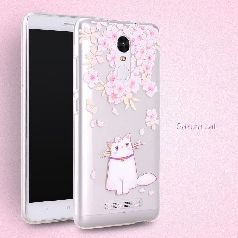 sale retailer 58663 42757 PZOZ Xiaomi Redmi Note 3 Pro Case Cute Cartoon Silicone Cover ...