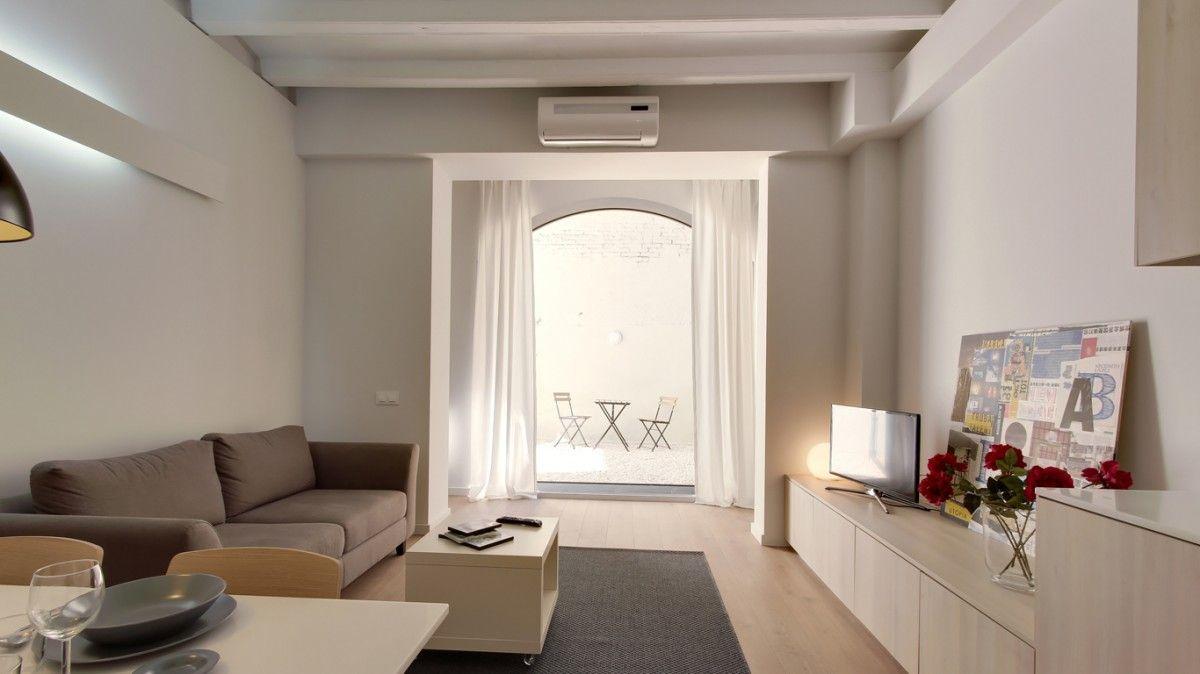 Un apartamento de 60 m2 en gracia pisos peque os decoraci n dise o - Diseno de interiores pisos pequenos ...