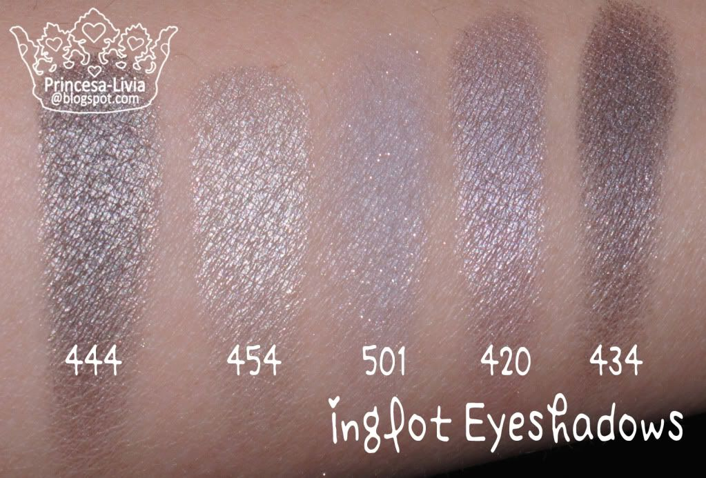 I Love Inglot Eyeshadows!! Reviews and Swatches