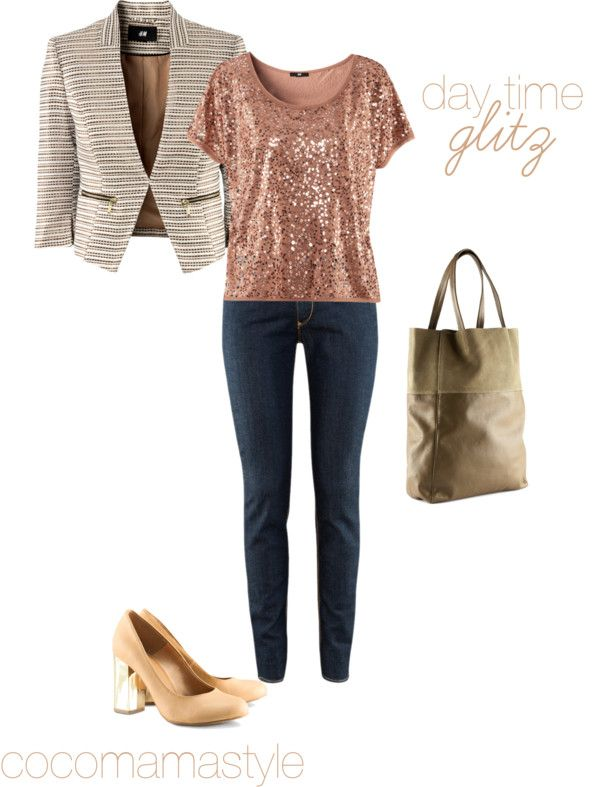 Daily dose: daytime glitz I love coco mama style. Daytime sequins? Hell yeah!