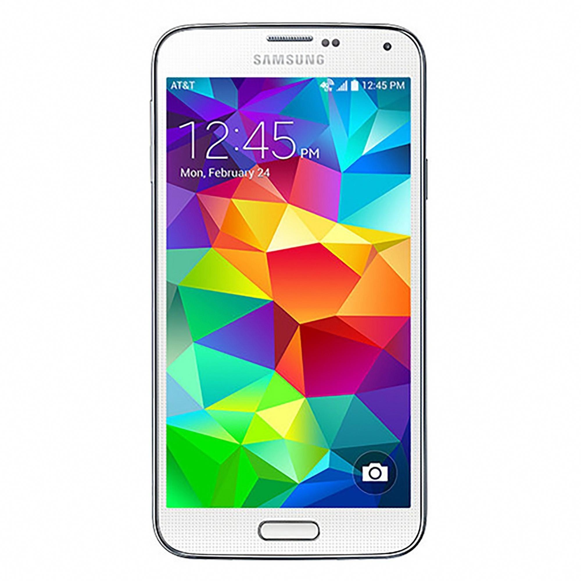Samsung Galaxy S5 (Gsm Unlocked) 16GB Smartphone White