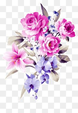 Hand Painted Flowers Flowers Plant Flower Rose Watercolor Hand Painted Free Watercolor Flowers Flower Png Images Flower Art Painting