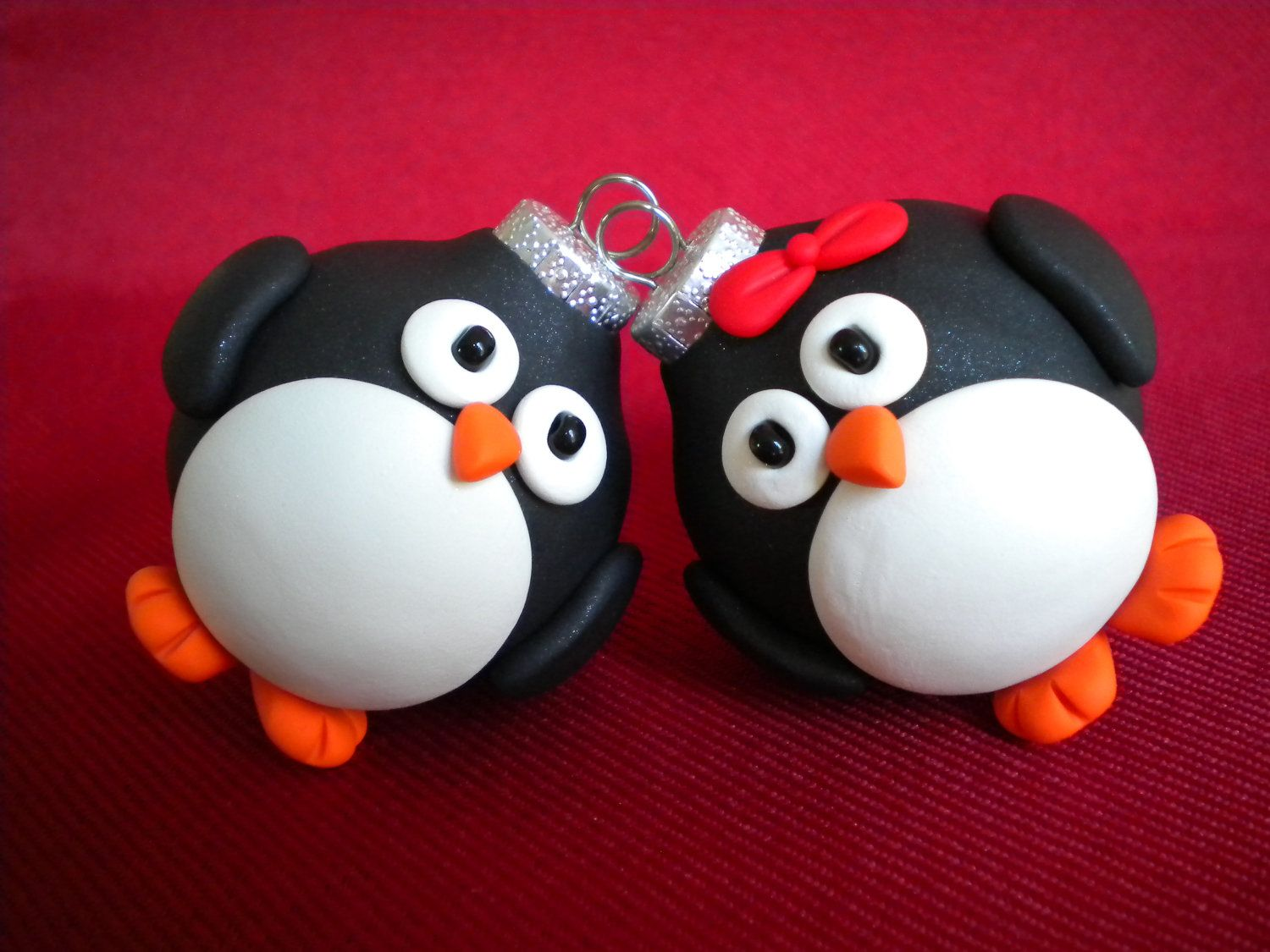 Penguin Christmas Tree Decorations