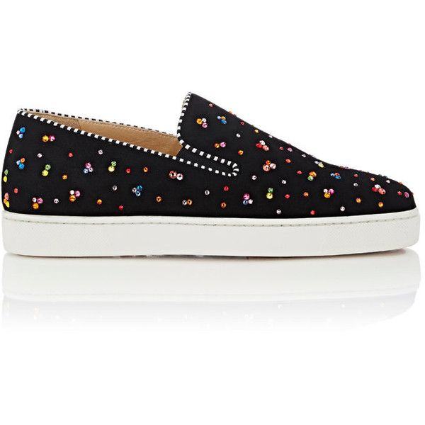 sale best seller cheap with credit card Christian Louboutin Pik Boat Slip-On Sneakers w/ Tags 2014 online EiuPXa