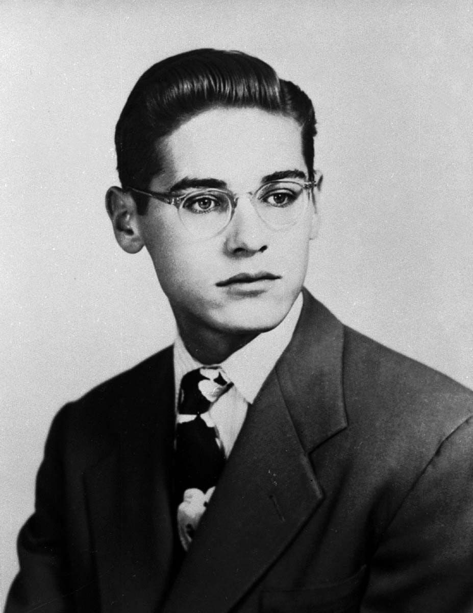 Bill Evans during his childhood