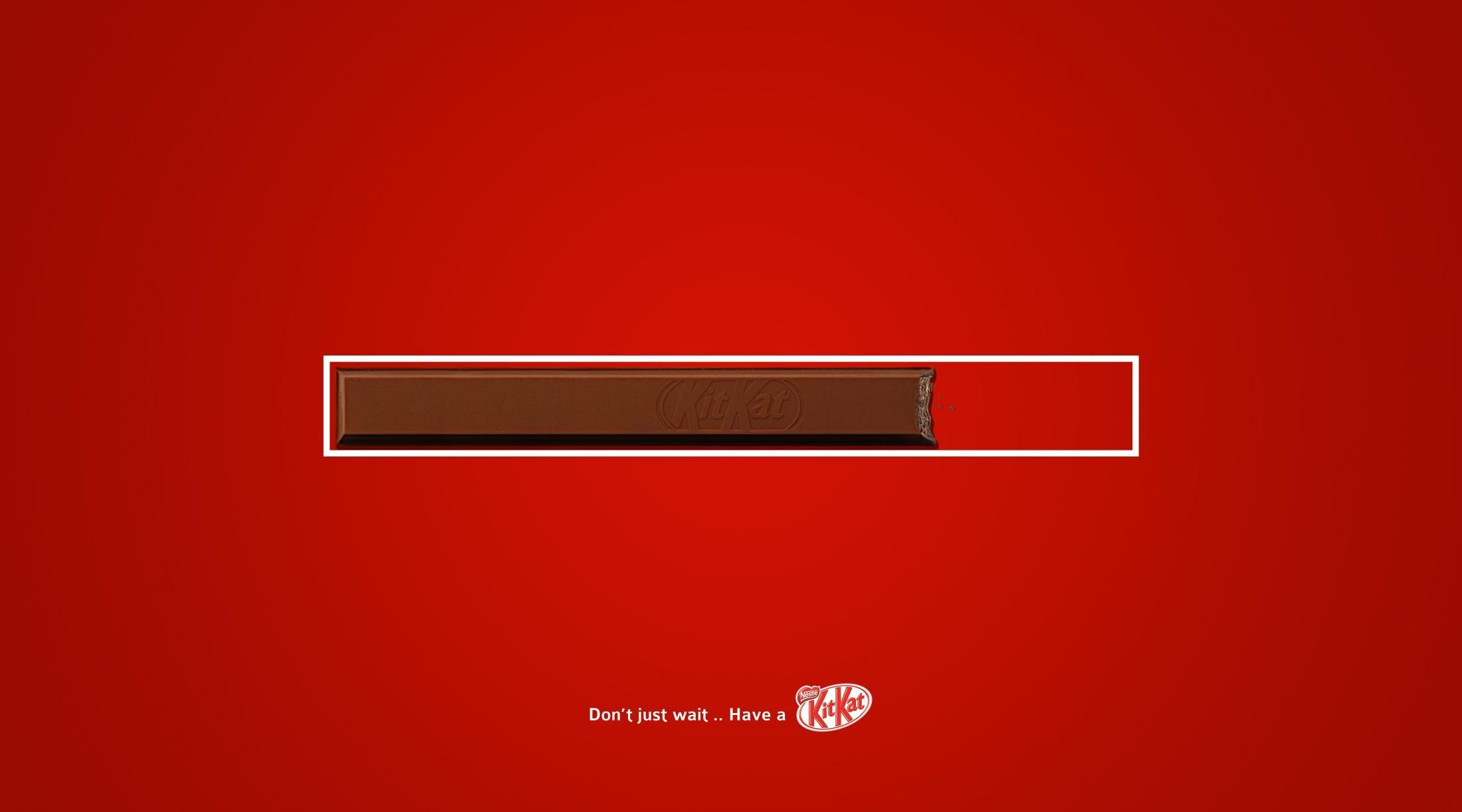 Kit Kat Print Ad - Kit Kat, 3 | Graphic design advertising ...