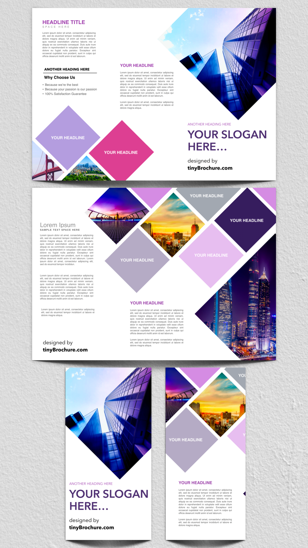 3 panel brochure template google docs free