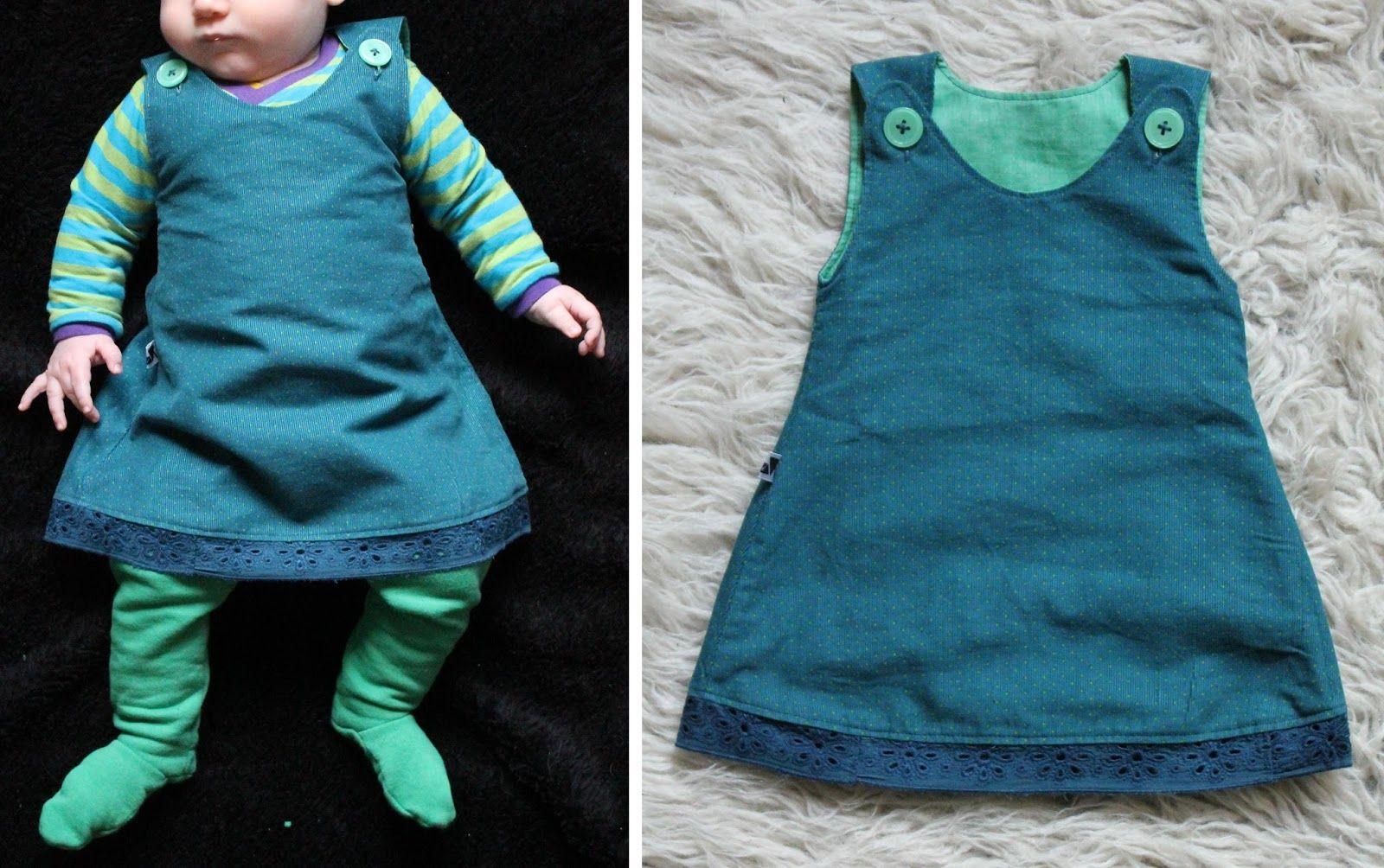 Baby Mädchen Kleid Gr. 50-68 Freebook | рукоделие | Pinterest | Baby ...