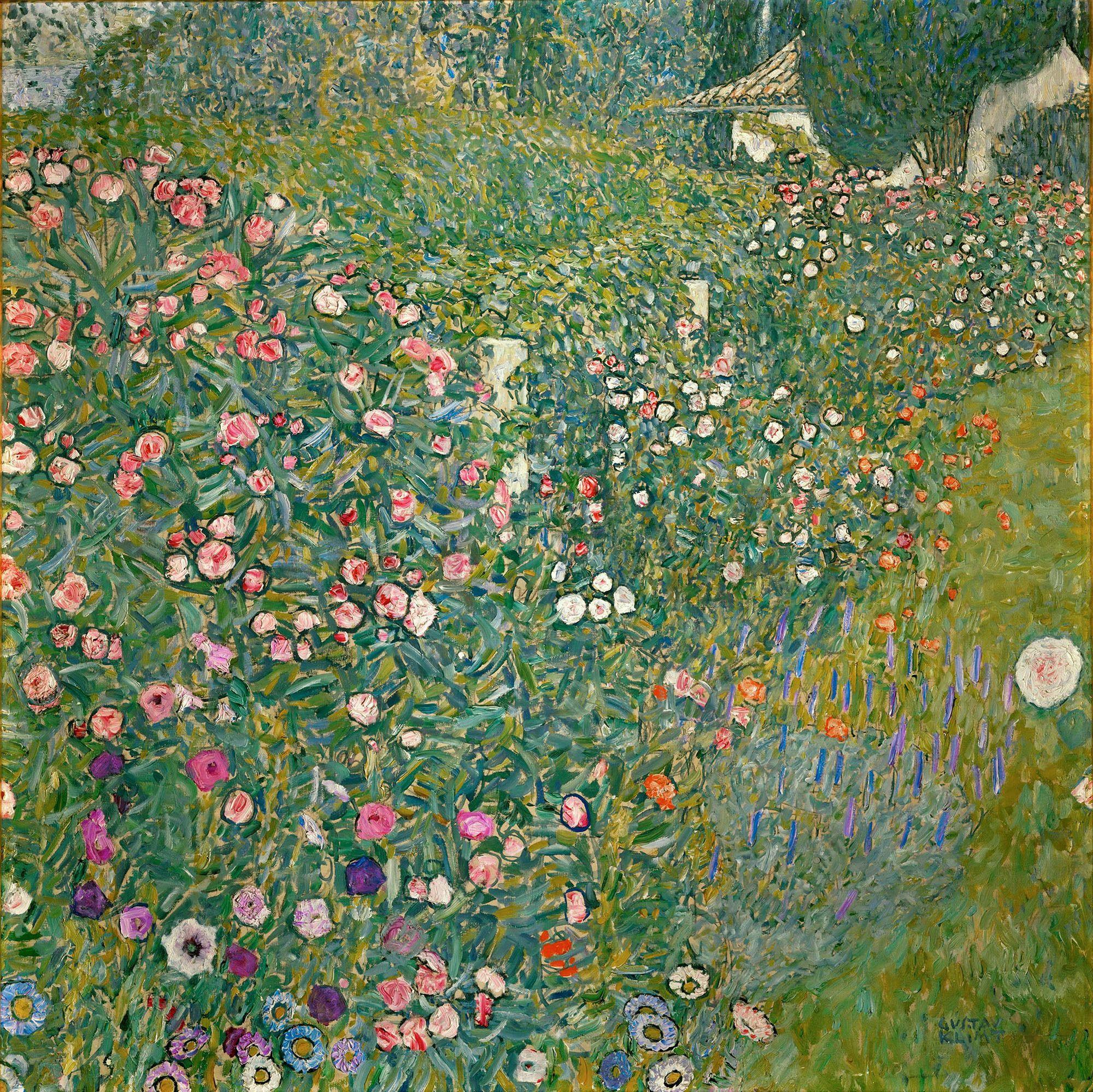 Klimt Gustav Italian Garden Landscape A Wall Mural For Every Room Klimt Art Gustav Klimt Gustav Klimt Art