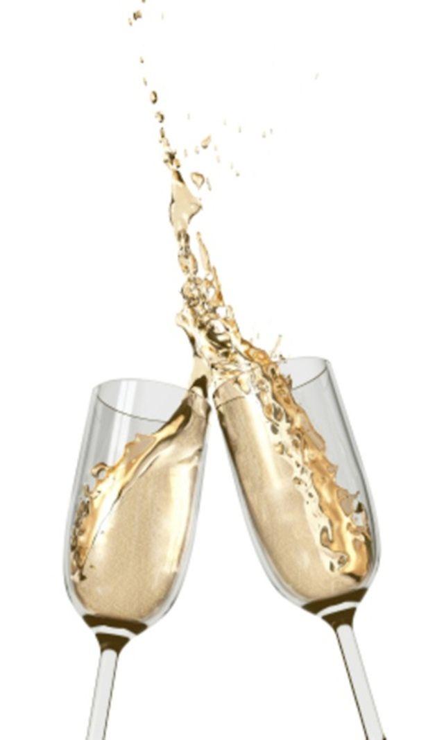 Um toque de dourado | A Splash... | Pinterest | Cheer, Champagne and ...