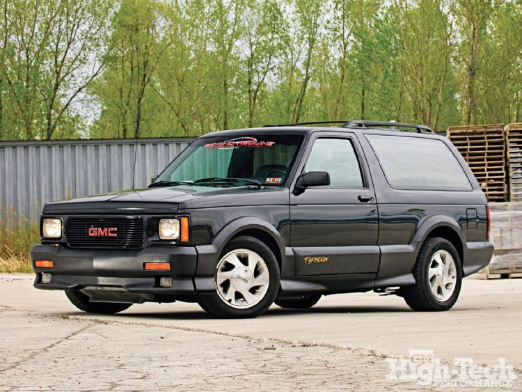 1993 Gmc Typhoon Gm High Tech Performance Magazine Gmc Gmc