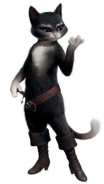 Il gatto con gli stivali: foto ufficiale cartoni animati gatti